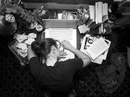 writer stress